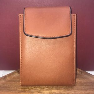 Buxton brown genuine cowhide wallet